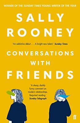 Conversations with Friends by Sally Rooney New Paperback Book
