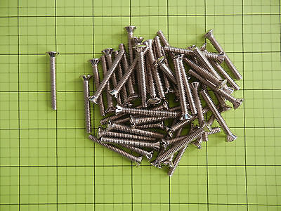 "Chrome Plated Brass Machine Screws, 10-24 x 1 1/2"" slotted oval head, 50 ea."