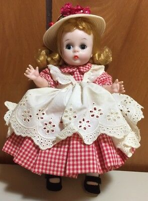 """Vintage MADAME ALEXANDER 1962 AMERICAN GIRL 8"""" Complete Outfit Rare"""