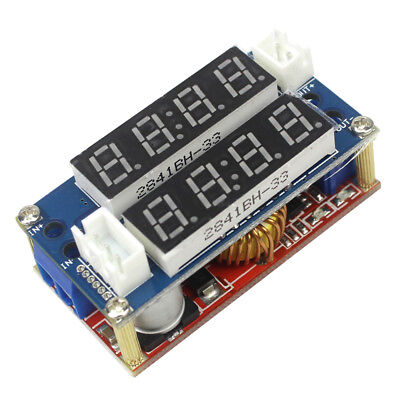 Constant Current/Voltage LED Driver Battery Charging Module 5A Voltmeter Ammeter