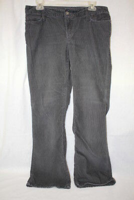 062fc1ed EDDIE BAUER BROWN Curvy Bootcut Corduroy Pants Womens Size 6 India ...