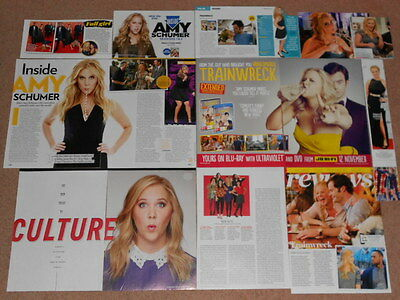 15- AMY SCHUMER Magazine Clippings