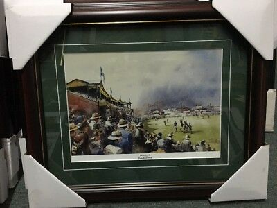 Great Richmond Football Club Tigers Punt Road Oval Matted And Framed Print Vfl