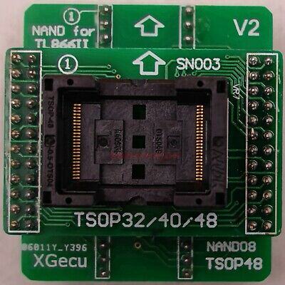 TSOP48 NAND Adapter only for TL866II plus programmer for NAND flash chips