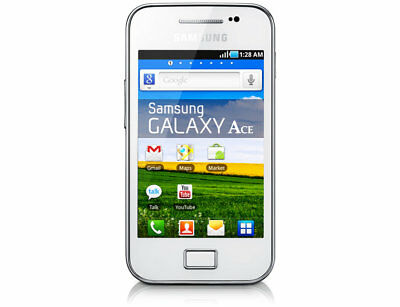 SAMSUNG GALAXY ACE GT-S5830i BLACK/WHITE UNLOCKED MOBILE PHONE A++