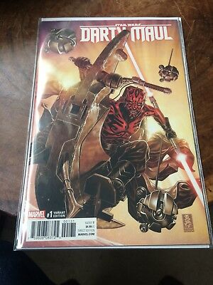 Star Wars Darth Maul #1 Variant Nm First Print Bagged & Boarded