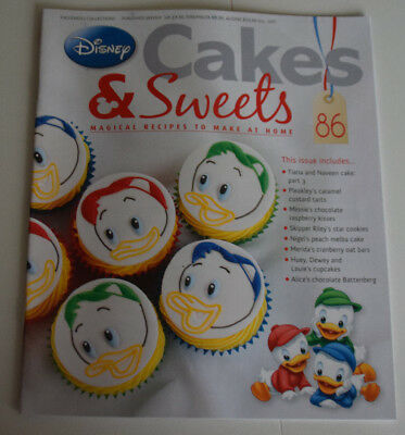 Disney Cakes and Sweets Magazine Issue 86 (Magazine Only/No Gift) Free P+P