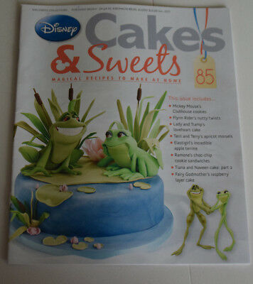Disney Cakes and Sweets Magazine Issue 85 (Magazine Only/No Gift) Free P+P