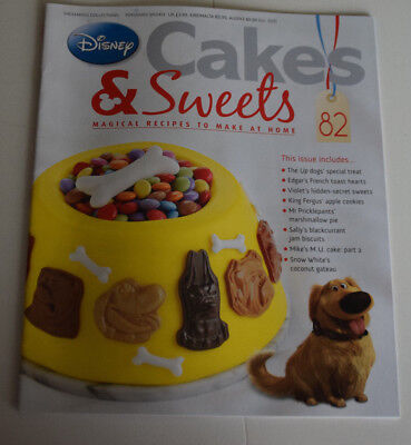 Disney Cakes and Sweets Magazine Issue 82 (Magazine Only/No Gift) Free P+P