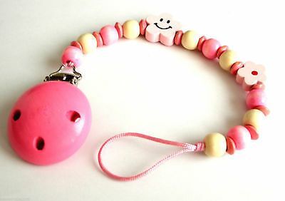 Pinza Clip Cadena Para Chupete Chupetero Holder Dummy Pacifier Soother Chain  Z5