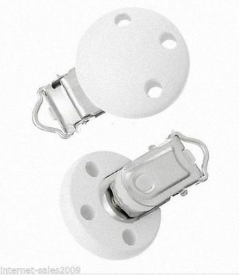 Pinza Clip Para Cadena Chupete Chupetero Holder Dummy Pacifier Soother Chain S3