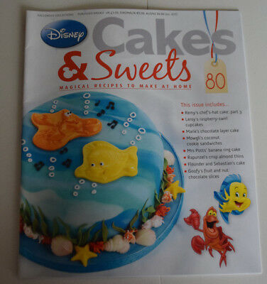 Disney Cakes and Sweets Magazine Issue 80 (Magazine Only/No Gift) Free P+P