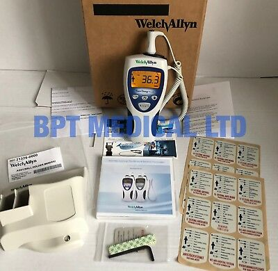 Welch Allyn Sure Temp Plus 692 Thermometer Assy Wall Holders, Instruction DVD