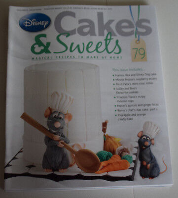 Disney Cakes and Sweets Magazine Issue 79 (Magazine Only/No Gift) Free P+P