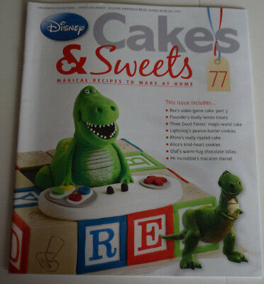 Disney Cakes and Sweets Magazine Issue 77 (Magazine Only/No Gift) Free P+P