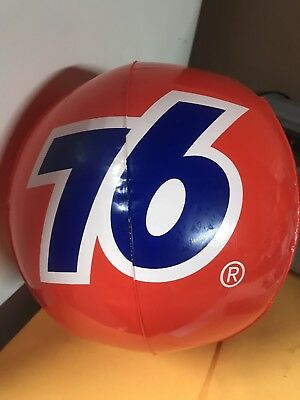 "UNiON 76 Oil gasoline logo 12"" Beach ball"