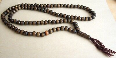 Collar Budista De Madera  De Coco / Buddhist Necklace Mk1