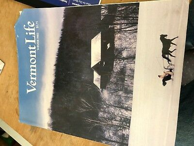 VERMONT LIFE Magazine Vermont History Rare Winter 1983 Curling High Pond SKi
