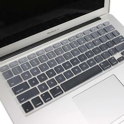 "PASBUY Silicone Keyboard Skin Cover for Apple MacBook Pro Air 13"" 15"" 17"" OmbreB"