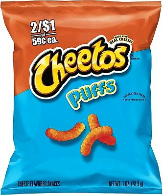 Cheetos Puffs Cheese Snacks (1 oz. ea., 36 ct.)