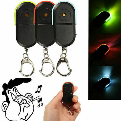 LED Whistle Car Key Finder Seeker Locator Find Lost Key Keyring Cool Gadgets New
