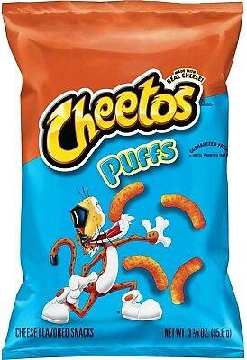 Cheetos Puffs Cheese Snacks (3.38 oz. ea., 18 ct.)