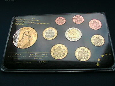 MONACO EURO PROBE 2012 GRACE KELLY / 999er RHODIUM / PP PROOF Auflage 2.000 !!