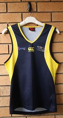 Hockey Nsw Country V City Challenge Men's #12 City Canterbury Ccc Singlet Small