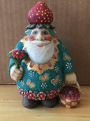 G. Debrekht SANTA OF THE FIELDS, 2005 Ltd. Ed. 157/1200 New, Box, COA #51786-4