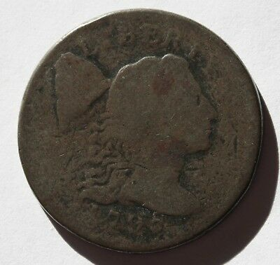 1795 LIBERTY CAP LARGE CENT,  S-76B, R1, AG-G,  Combined Shipping