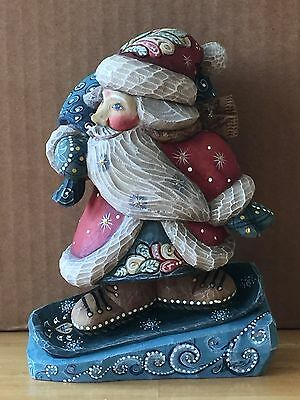 G. Debrekht DOWNSLOPE SANTA SECRET SURPRISE BOX, 2008 Ltd. Ed. 5/600, #519171