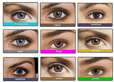 Etui pour Lentille de couleur Fresh Color contact lenses
