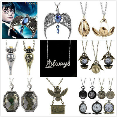 Harry Potter Dragon Egg Always Ravenclaw Lost Diadem Catenina Collana Gioielli