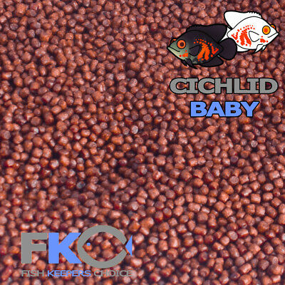 Fish Keepers Choice Cichlid Tropical Baby Colour Aquarium Pellets Floating Food
