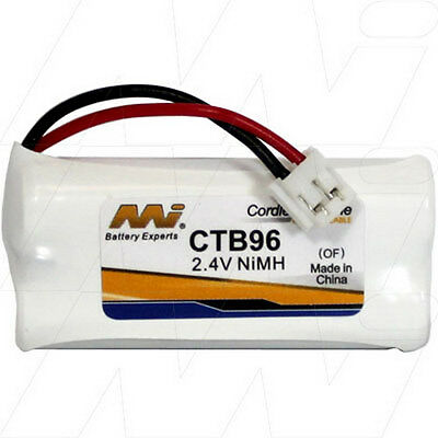 2.4V Replacement Battery Compatible with Telstra BT184342