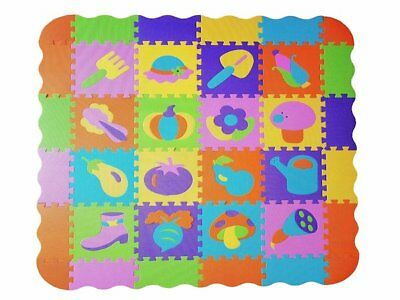 Baby Play Mat Large 72pcs Puzzle Educational Foam Mat Mix & Match 2 out of 4