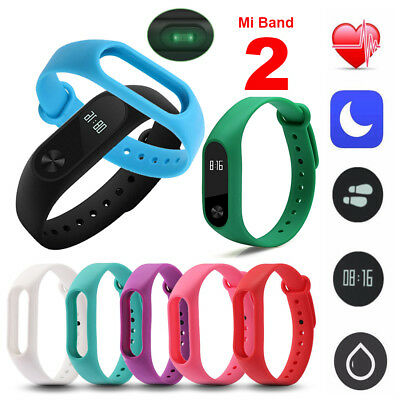 Sport Style Colorful Silicone Wrist Strap Wristband Bracelet For Xiaomi Miband 2