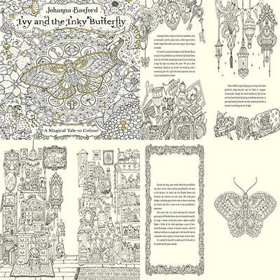 Ivy And The Inky Butterfly Colouring Books Paperback 12 Oct 2017 Hours Of Fun