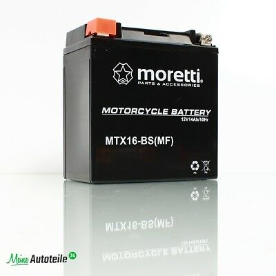 MORETTI MTX9/BS YTX9-BS BS DS Gel Motorcycle//Scooter Battery with Stromtester