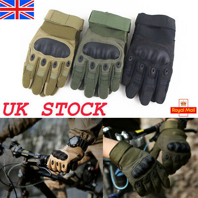 Full Finger Gloves Tactical Waterproof Stretch Anti-Slip Mittens Driving Outdoor