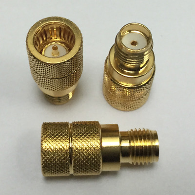 RF Coaxial Adapter - SMA(f) - Push-On(m) Test Connector SMA