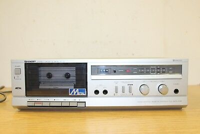 SHARP Stereo Cassetten Deck RT-12H Vintage (1629)