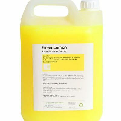Lemon Scented Floor Cleaning Gel 5 Litre Container