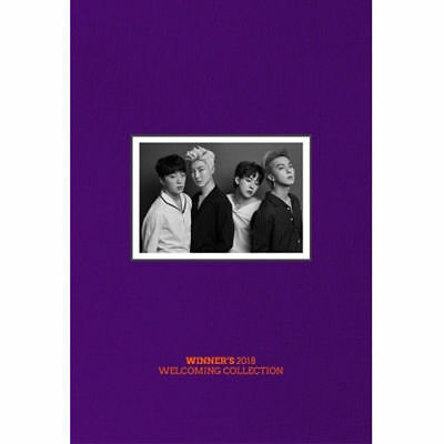 WINNER - WINNER'S 2018 Welcoming Collection (1 DISC +Photobook)+ Tracking Number