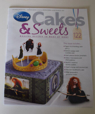 Disney Cakes and Sweets Magazine Issue 122 (Magazine only/NO Gift) Free P+P