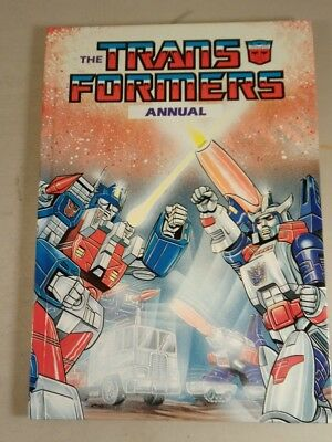 The Transformers Annual 1987 Comic strip - transformers Annual 1987 unclipped