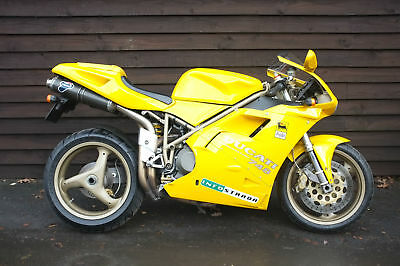 Ducati 748 Biposto 1998 just 2 owners last one from 1yr old! Stunning condition!
