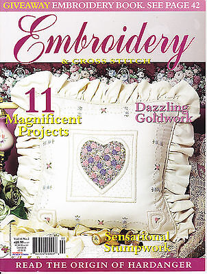 Embroidery & Cross Stitch Vol 10 No 2 - 11 projects