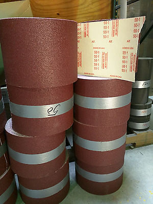 "50 Grit Zirconia Alumina Floor Sanding Roll 8"" x 50 yards"