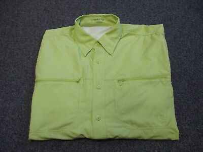 Very Nice Mens Orvis Long Sleeve Vented Fishing Shirt Size Xl